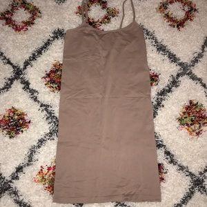 Bodycon mini tank top dress